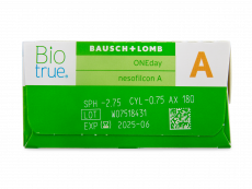 Biotrue ONEday for Astigmatism (30 lenzen)
