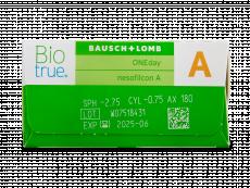 Biotrue ONEday for Astigmatism (90 lenzen)