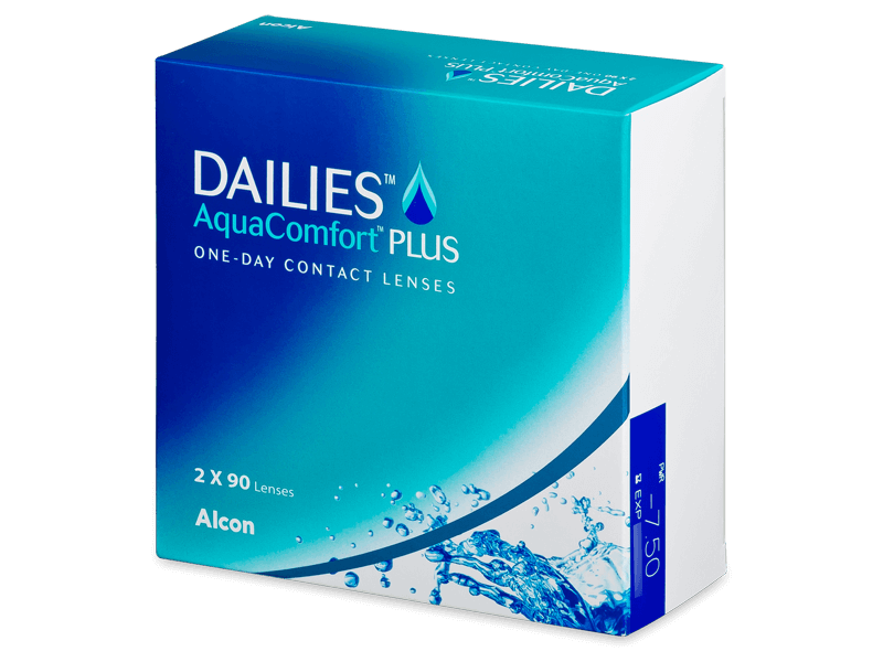 Dailies AquaComfort Plus (180lenzen)