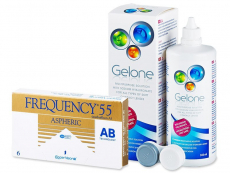 Frequency 55 Aspheric (6 lenzen) + Gelone 360 ml