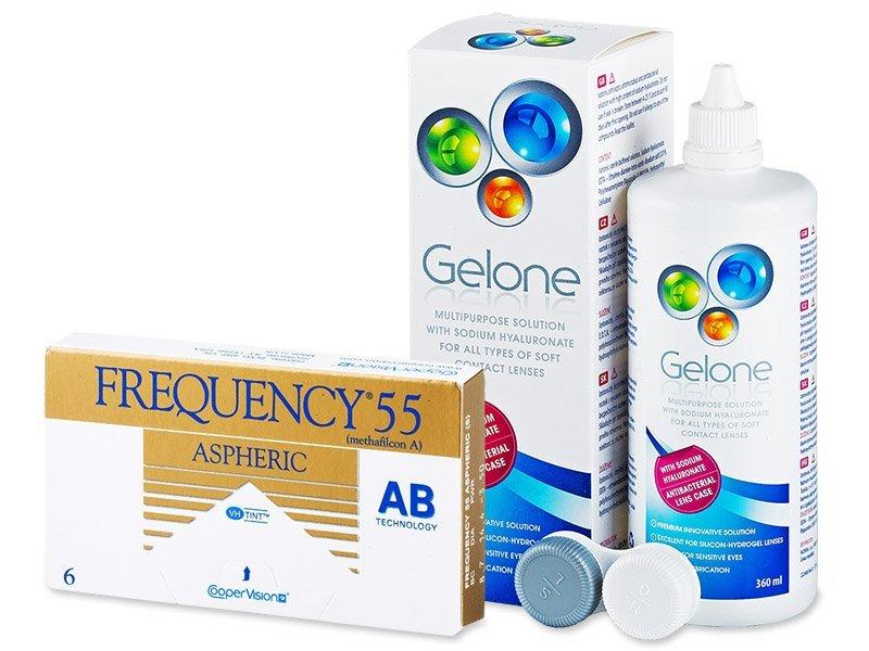 Frequency 55 Aspheric (6lenzen) + Gelone 360 ml