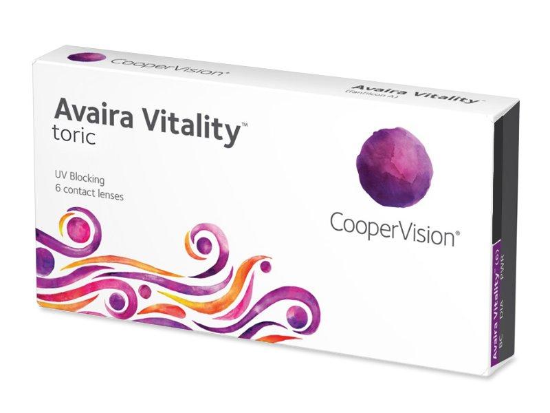 Avaira Vitality Toric (6 lenzen)