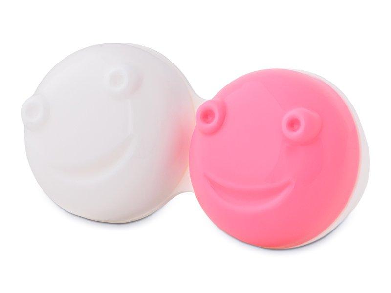 Lensdoosje voor Vibrerende Lenskit - roze