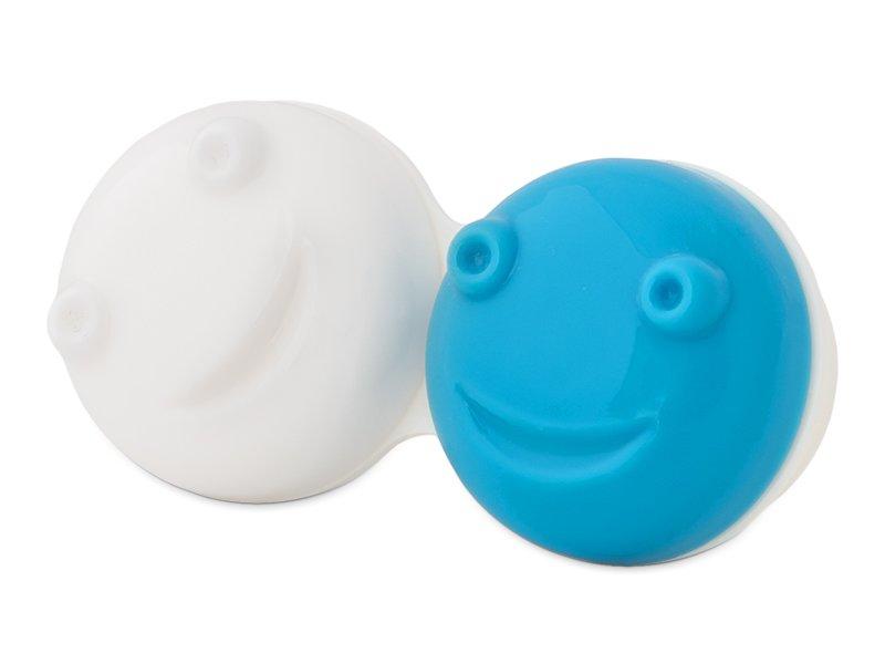 Lensdoosje voor Vibrerende Lenskit - blauw