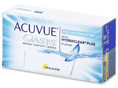 Acuvue Oasys for Astigmatism (12 lenzen)