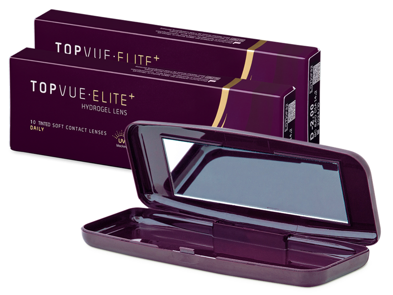 TopVue Elite+ (10 paar) + Lenzenhouder TopVue Elite