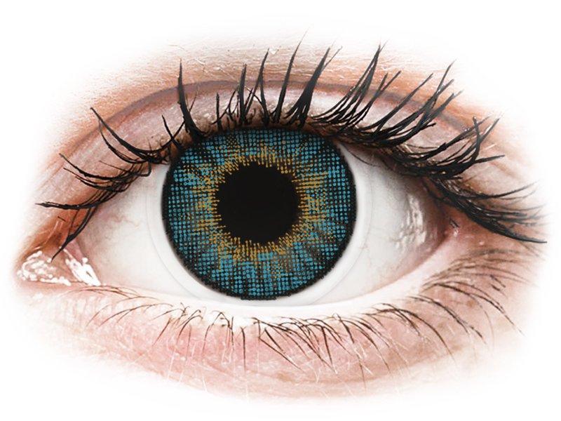 Blauwe contactlenzen - Air Optix Colors (2kleurlenzen)