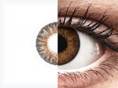 Bruine contactlenzen - Air Optix Colors (2kleurlenzen)