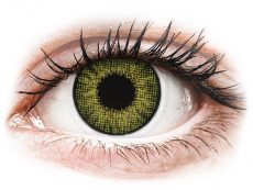 Groene Gemstone Green contactlenzen - Air Optix Colors (2 kleurlenzen)