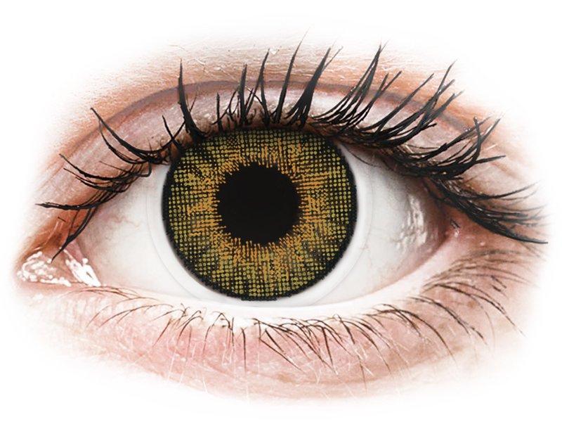 Bruine Pure Hazel contactlenzen - Air Optix Colors (2kleurlenzen)