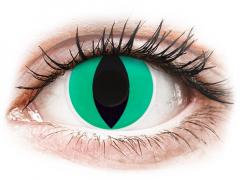 Groene Anaconda contactlenzen - ColourVue Crazy (2 kleurlenzen)