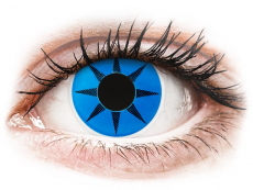 Blauwe Blue Star contactlenzen - ColourVue Crazy (2 kleurlenzen)