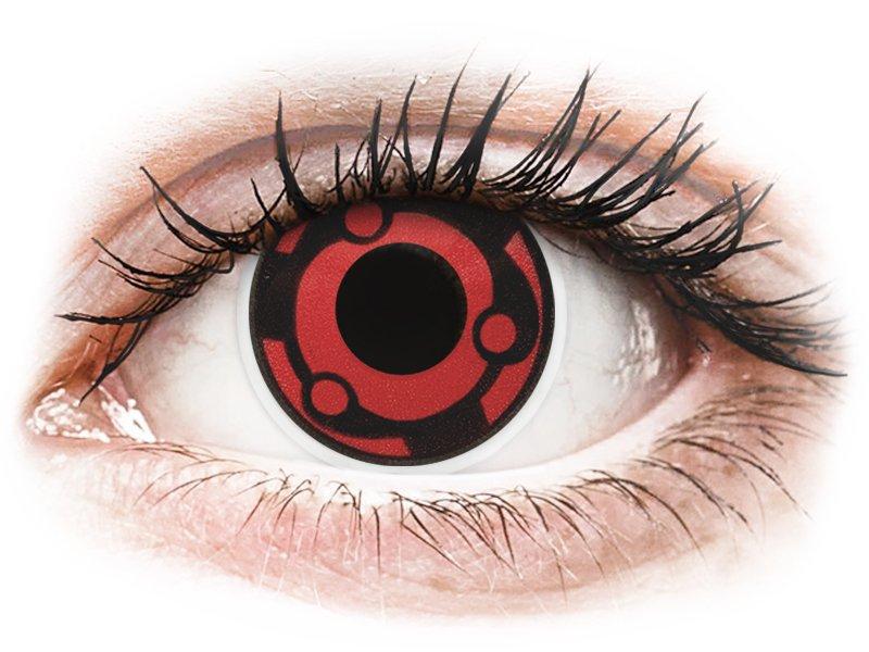 Rood en Zwarte Madara contactlenzen - ColourVue Crazy (2 kleurlenzen)