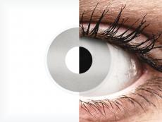 Zilveren Mirror contactlenzen - ColourVue Crazy (2 kleurlenzen)