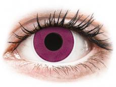 Paarse Purple contactlenzen - ColourVue Crazy (2 kleurlenzen)