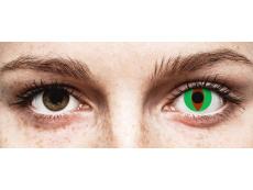 Groene Raptor contactlenzen - ColourVue Crazy (2 kleurlenzen)