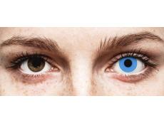 Blauwe Sky Blue contactlenzen - ColourVue Crazy (2 kleurlenzen)