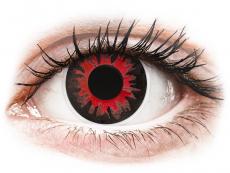 Rode Volturi contactlenzen - ColourVue Crazy (2 kleurlenzen)