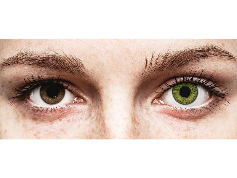 Groene Fresh Green contactlenzen - TopVue Color (10 gekleurde daglenzen)