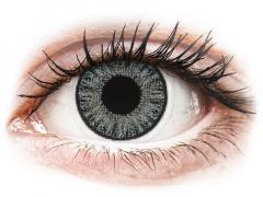 Grijze Soft Grey contactlenzen - met sterkte - TopVue Color (10 gekleurde daglenzen)