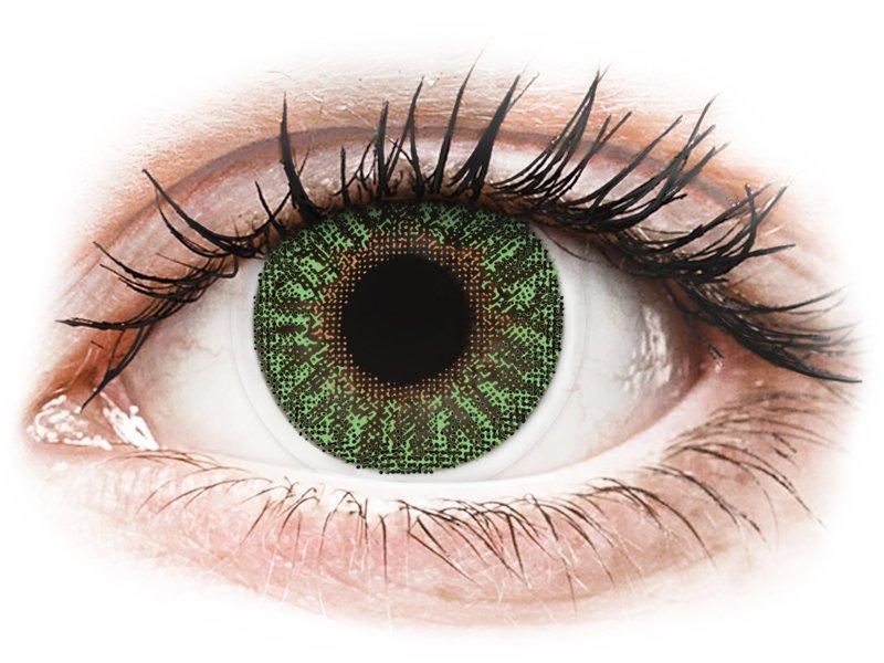 Groene contactlenzen - TopVue Color (2kleurlenzen)