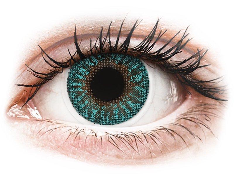Turquoise contactlenzen - TopVue Color (2 kleurlenzen)