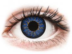 Blauwe contactlenzen - ColourVUE Glamour (2kleurlenzen)