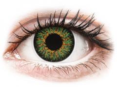 Groene contactlenzen - met sterkte - ColourVUE Glamour (2kleurlenzen)