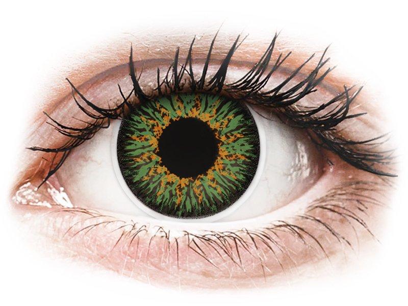 Groene contactlenzen -  ColourVUE Glamour (2kleurlenzen)
