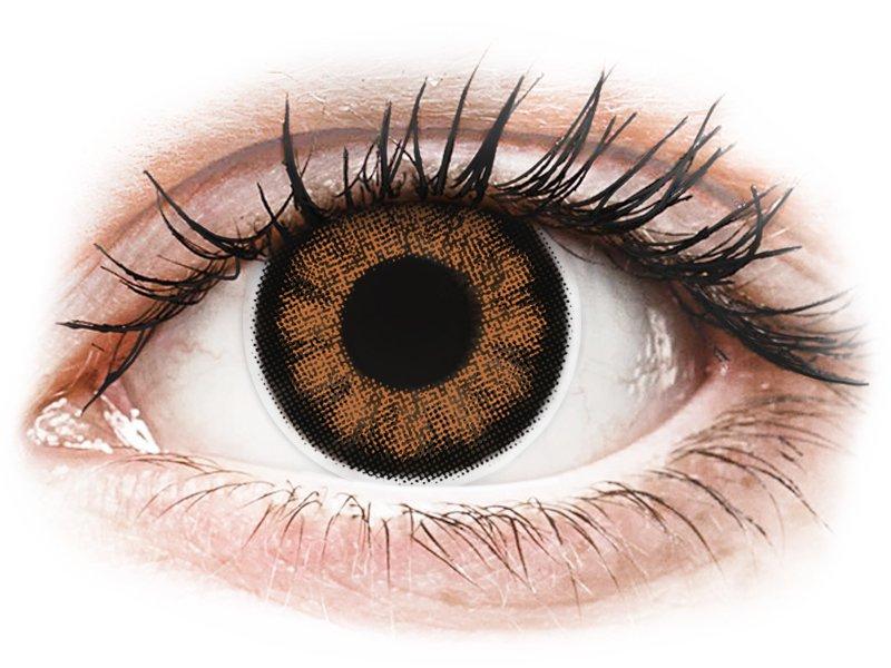 Bruine Sexy Brown contactlenzen - ColourVUE BigEyes (2kleurlenzen)