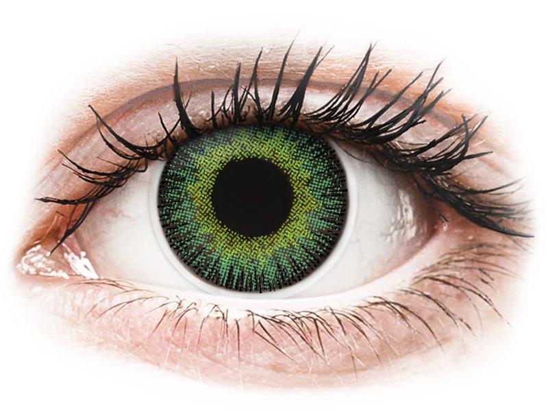 Groen en Gele contactlenzen - ColourVUE Fusion (2kleurlenzen)
