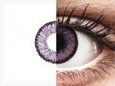 Paarse Indigo lenzen - SofLens Natural Colors (2 kleurlenzen)