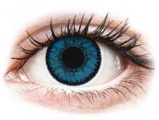 Blauwe Topaz lenzen - SofLens Natural Colors (2 kleurlenzen)