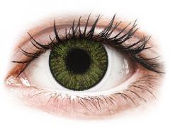 FreshLook ColorBlends Green - met sterkte (2 lenzen)