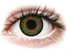 FreshLook One Day Color Green - met sterkte (10 lenzen)