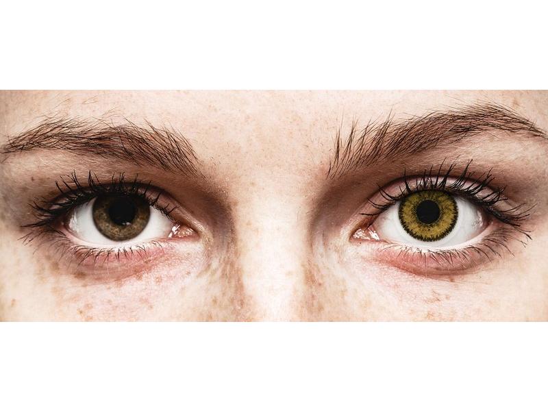 Bruine Dark Hazel lenzen - SofLens Natural Colors (2 kleurlenzen)