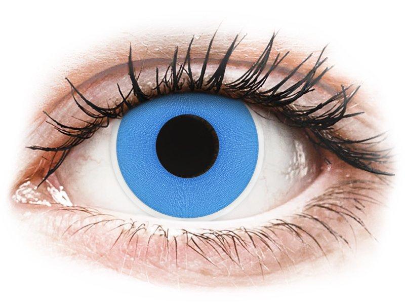 Blauwe Sky Blue contactlenzen - ColourVue Crazy (2 gekleurde daglenzen)