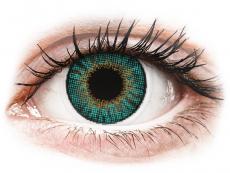 Turquoise contactlenzen - met sterkte - Air Optix Colors (2kleurlenzen)