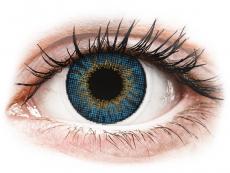 Blauwe True Sapphire contactlenzen - met sterkte - Air Optix Colors (2kleurlenzen)