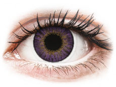 Paarse Amethyst contactlenzen - Air Optix Colors (2 kleurlenzen)