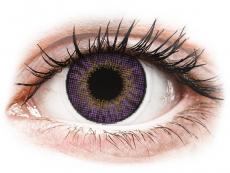 Paarse Amethyst contactlenzen - met sterkte - Air Optix Colors (2kleurlenzen)