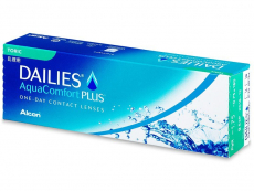 Dailies AquaComfort Plus Toric (30 lenzen)