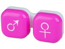 Lenzenhouder Man&Vrouw - Roze