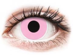 Roze Barbie Pink contactlenzen - ColourVue Crazy (2 kleurlenzen)