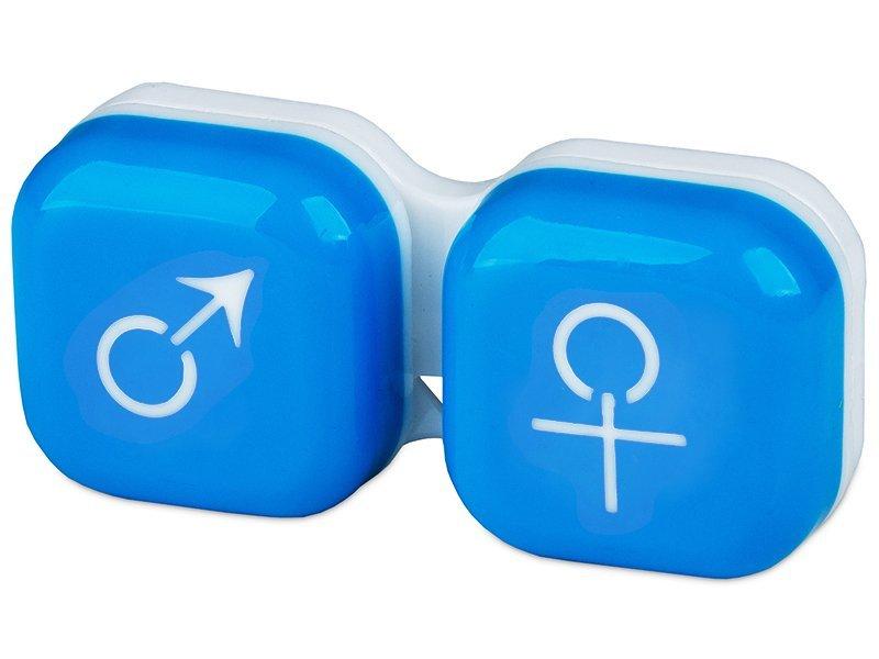 Lenzenhouder Man&Vrouw - Blauw