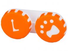 Lenzenhouder Pootafdruk - Oranje