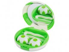 Lenzenhouder kit met spiegel Voetbal - groen