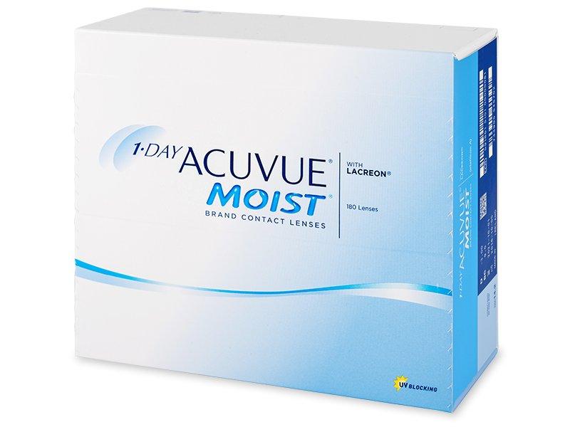 1 Day Acuvue Moist (180 lenzen)