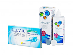 Acuvue Oasys for Presbyopia (6 lenzen) + Gelone 360 ml