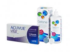 Acuvue Vita (6 lenzen) + Gelone 360 ml